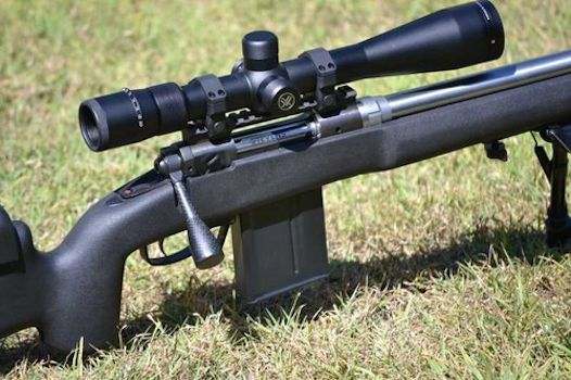Tactical Bolt Handle and Oversized Knob Kit for Tikka